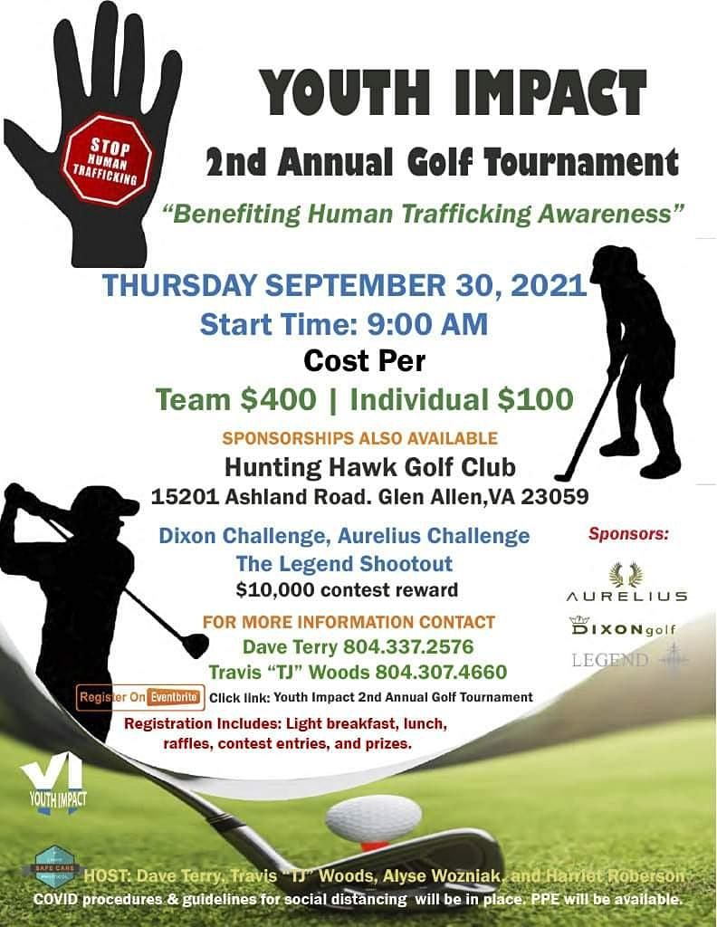 Youth Impact's 2nd Annual Golf Tournament 2021, 30 September | Event in Glen Allen | AllEvents.in