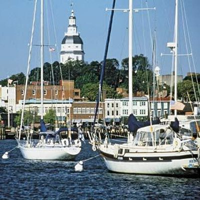 Sunday in Annapolis MD (Boating and Touring)