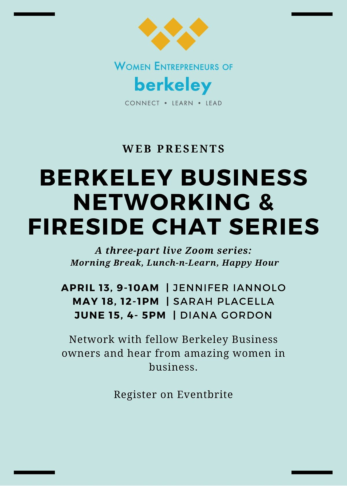 Berkeley Business Networking and Fireside Chat Series | Online Event | AllEvents.in