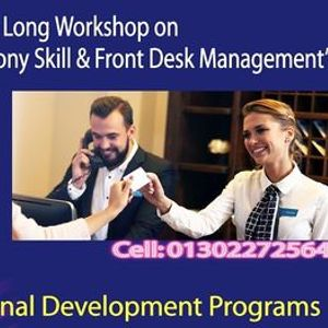 Day long workshop on Effective Telephony Skill & Front Desk Management