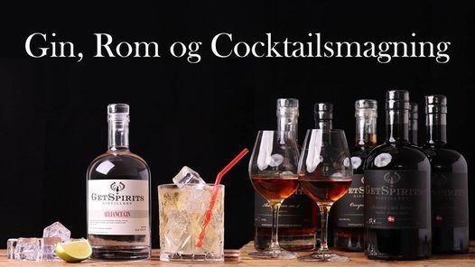Gin Rom og Cocktailsmagning