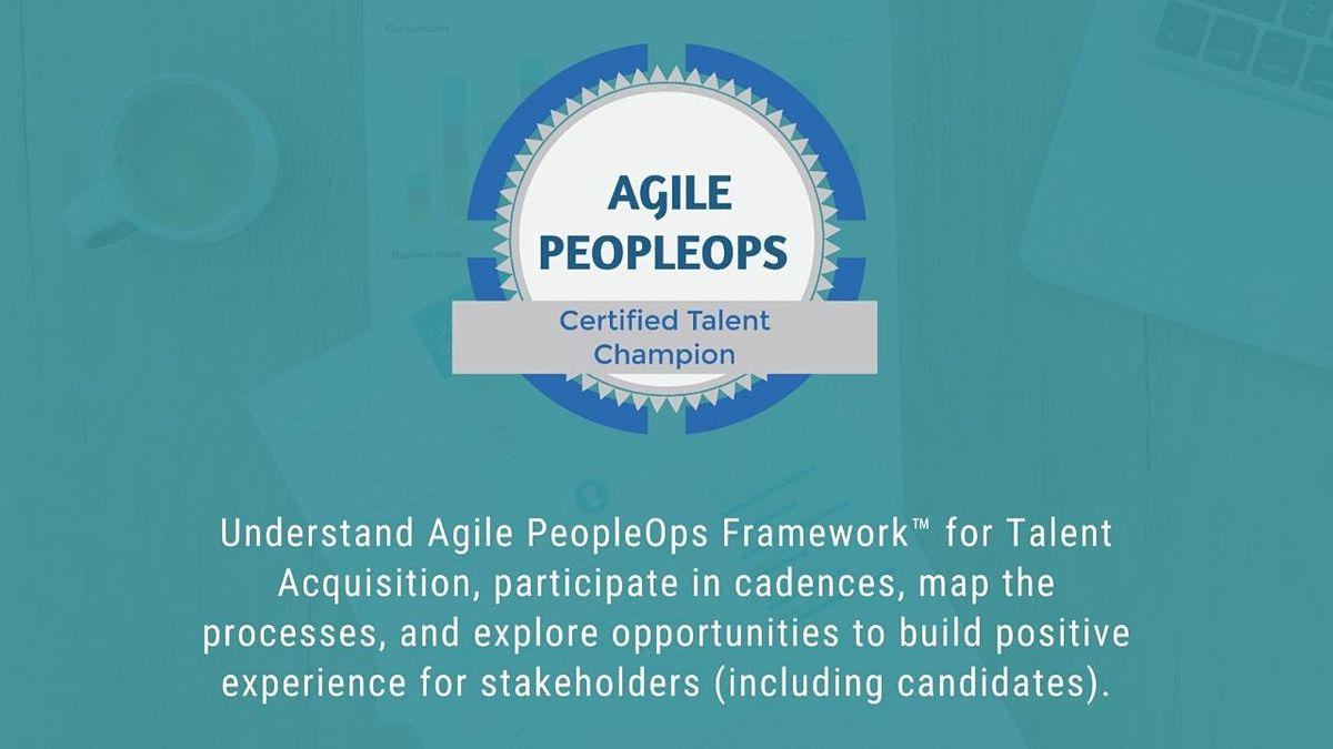APF Certified Talent Champion (APF CTC)  August 2020