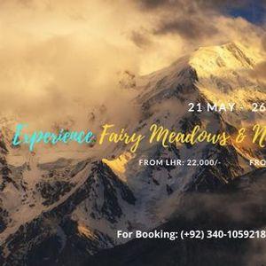 5 Days Experience of Fairy Meadows & Nanga Parbat Basecamp