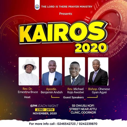 KAIROS 2020 | Event in Accra | AllEvents.in