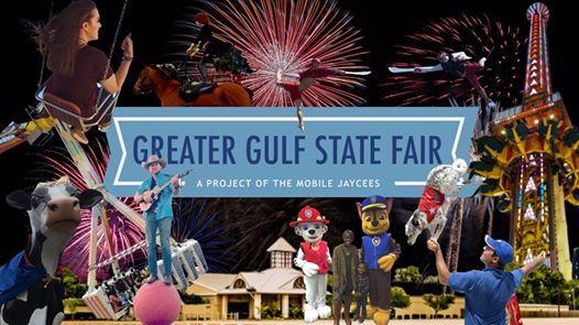 Greater Gulf State Fair Mobile Al 2020.65th Annual Greater Gulf State Fair At The Grounds Mobile