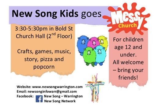 New Song Kids goes Messy! - September at Bold Street