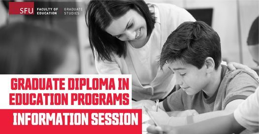 Information Session - Graduate Diploma in Education (GDE), 7 June | Online Event | AllEvents.in