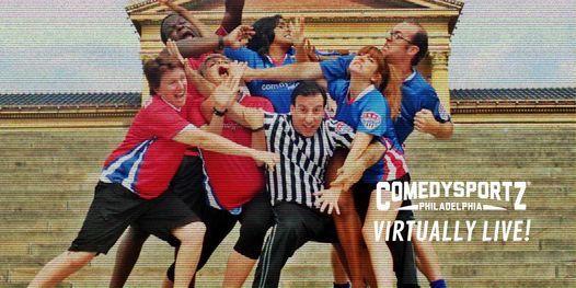 ComedySportz Minor League Virtually Live