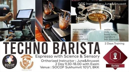 GCS Techno Barista : #04 Aug, 19 August   Event in Klong Luang Peng   AllEvents.in