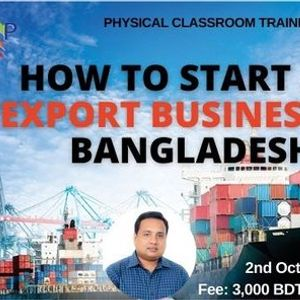Day long workshop on How to Start an Export Business