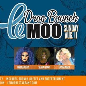 Drag Brunch at Le Moo 8.11.19