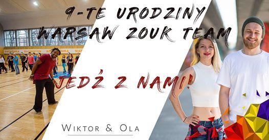 9-urodziny Warsaw Zouk Team - grupa Wiktora&Oli