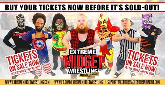 Extreme Midget Wrestling Live in Orem UT at The Rise