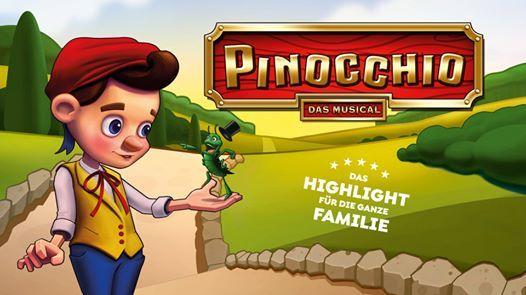 Pinocchio - das Musical in Darmstadt