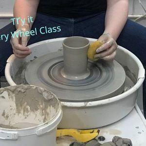 Try it  Pottery Wheel Workshop