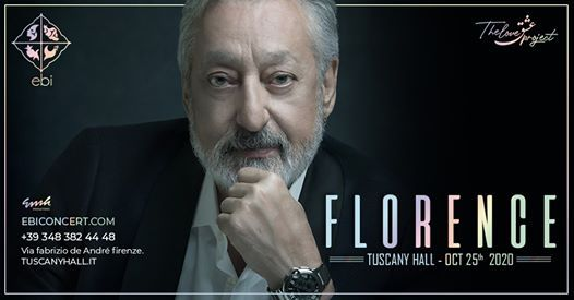 Ebi - Live in Florence - Sunday October 25th 2020
