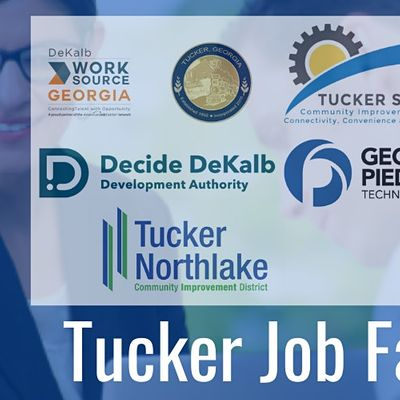 Tucker Back to Work Job Fair (Registration Form for Job Seekers)