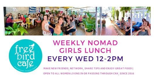 Weekly Nomad Girls Lunch, 16 June | Event in Chiang Mai | AllEvents.in