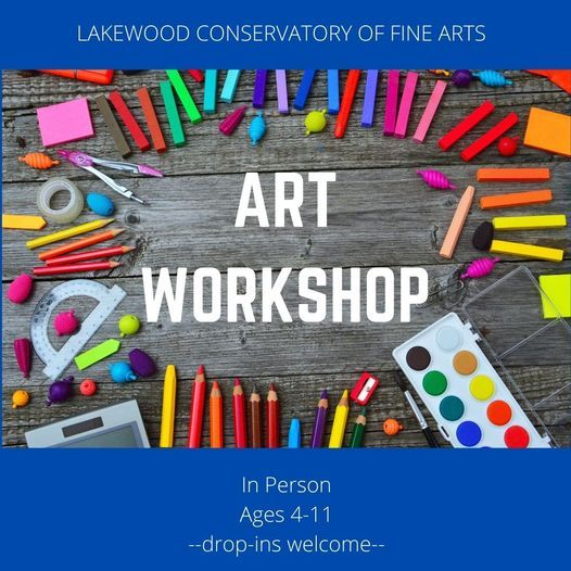 ART Workshop - LAKEWOOD CAMP, 9 August | Event in Dallas | AllEvents.in