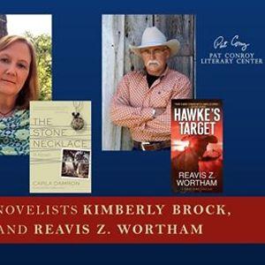 First Friday Kimberly Brock Carla Damron & Reavis Z. Wortham
