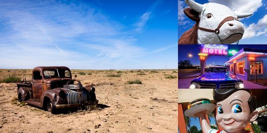 Virtual Road Trip Down Route 66 with Pro Photographer Julien McRoberts, 24 March   Online Event   AllEvents.in