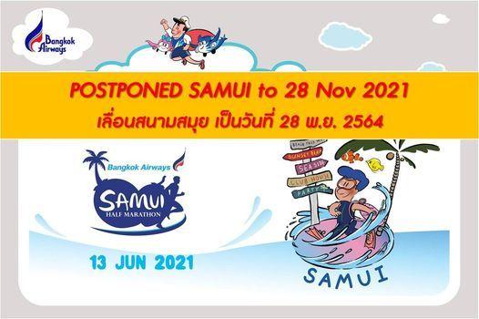 Bangkok Airways Samui Half Marathon 2021, 28 November   Event in Surat Thani   AllEvents.in