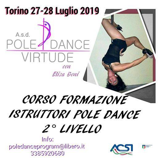 Corso Formazione Istruttori Pole Dance 2 Livello