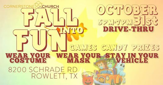 Fall Into Fun, 31 October   Event in Rowlett   AllEvents.in