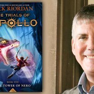 P&ampP Live Rick Riordan  The Tower of Nero