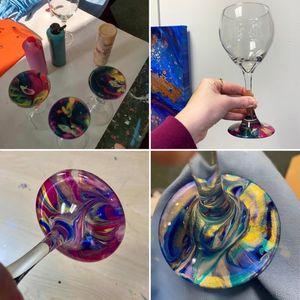 Wine Glass Dips