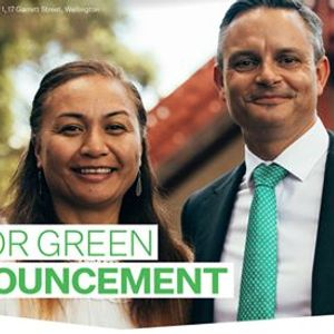 Join James & Marama for a Major Green Announcement