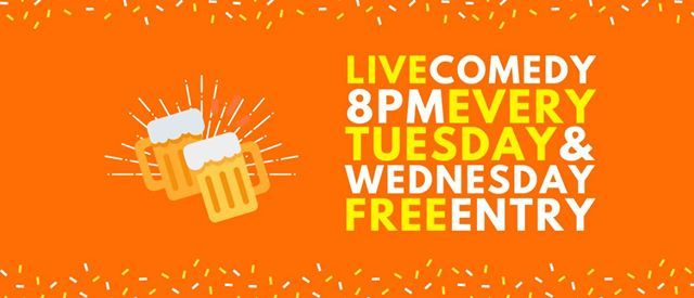 Tuesday & Wednesday Free Comedy at Tabac Bar
