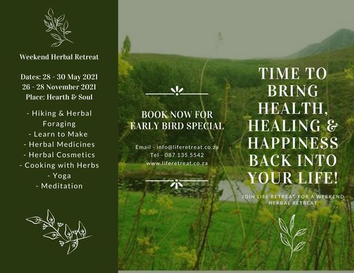 Herbal Healing Retreat Experience, 28 May | Event in Somerset West | AllEvents.in