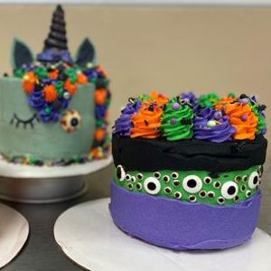 Halloween Cake Decorating - Leisure Class at Louisiana ...