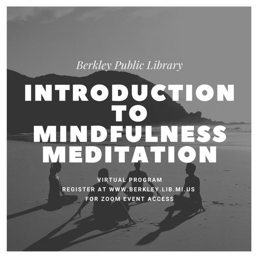 Online: An Introduction to Mindfulness Meditation | Event in Berkley | AllEvents.in