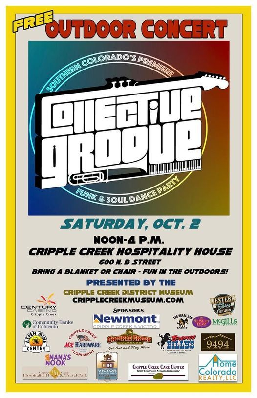 Collective Groove @ Cripple Creek, 2 October   Event in Cripple Creek   AllEvents.in