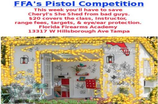 Ffas Pistol Competition 20 Help Save Cheryls She Shed At