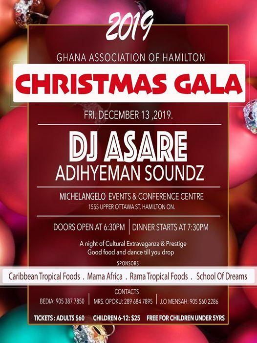 Ghana Association Christmas Gala