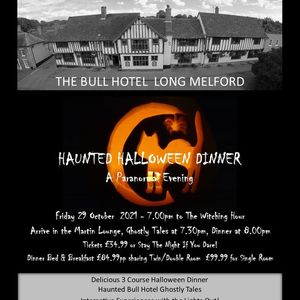 Haunted Halloween Dinner - A Paranormal Evening