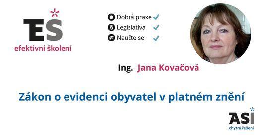 Zákon o evidenci obyvatel v platném znění, 2 November | Event in Pardubice | AllEvents.in