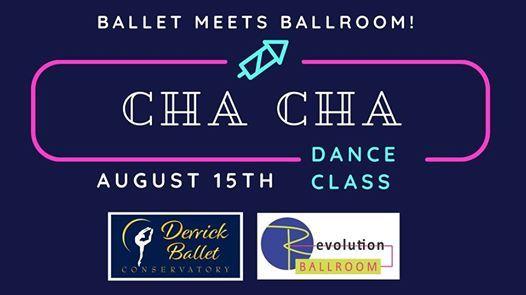 Cha Cha Class for Derrick Ballet Conservatory Dancers