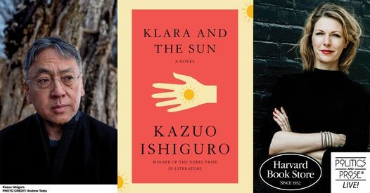 Kazuo Ishiguro | Klara and the Sun with Dr. Kate Darling | Online Event | AllEvents.in