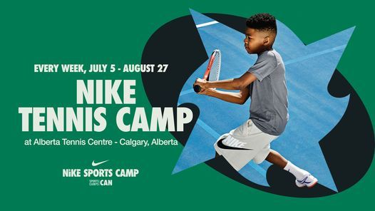 Nike Tennis Camp at Alberta Tennis Centre, 5 July | Event in Calgary | AllEvents.in