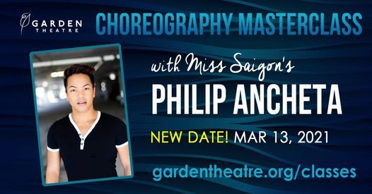 Choreography Masterclass with Miss Saigon's Philip Ancheta, 13 March | Event in Winter Garden | AllEvents.in