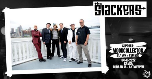 The Slackers (USA) + MoodCollector, 4 October   Event in Antwerp   AllEvents.in