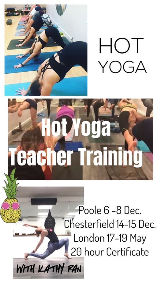 On Line Hot Yoga Teacher Training At Yoga University London