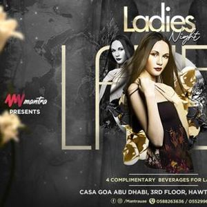 Mantra presents Tuesdays Ladies Night