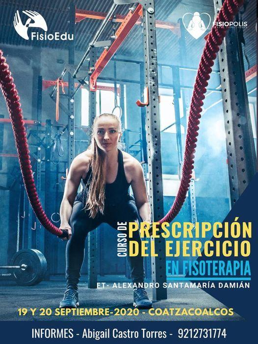 Prescripcin del ejercicio en fisioterapia