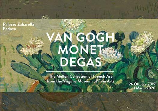 Il potere dellarte Van Gogh Monet Degas