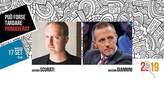 Dialogo tra Antonio Scurati e Massimo Giannini  MolteFedi2019